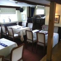 The Wheatsheaf dining room