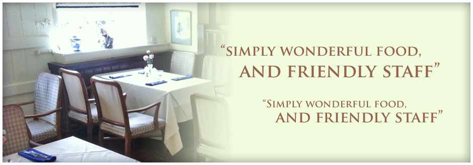 Simply wonderful food and friendly staff
