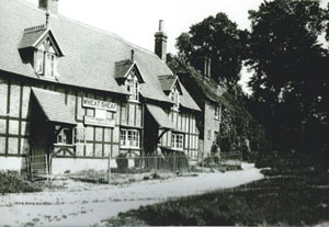 Historic photo of the Wheatsheaf