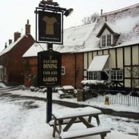 Snow at The Wheatsheaf